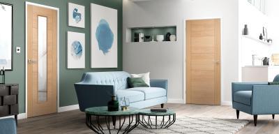 Oak & Internal Doors Solid Glazed u0026 Unglazed | LPD Doors