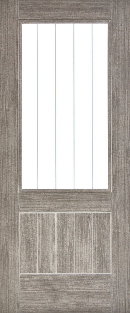 Light Grey Laminated Mexicano Glazed & Light Grey Laminated Mexicano Glazed | LPD Doors