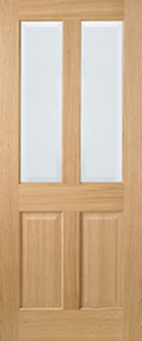 Oak Richmond Glazed 2l Pre Finished Oak Internal Doors Lpd Doors
