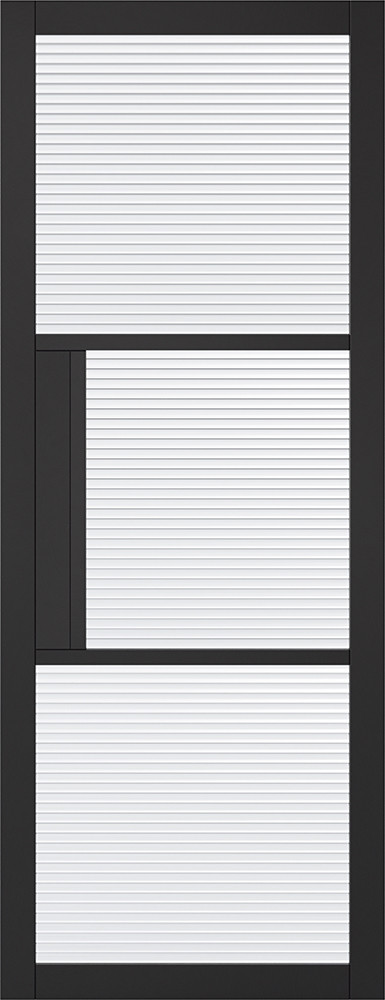 Black Tribeca Glazed 3L Reeded