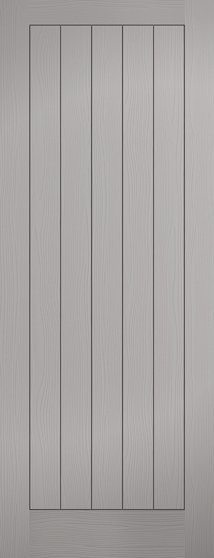 Grey Moulded Textured Vertical 5P