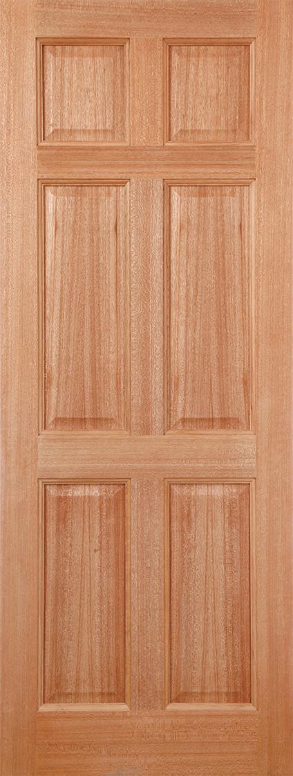 Hardwood Colonial 6P Dowelled