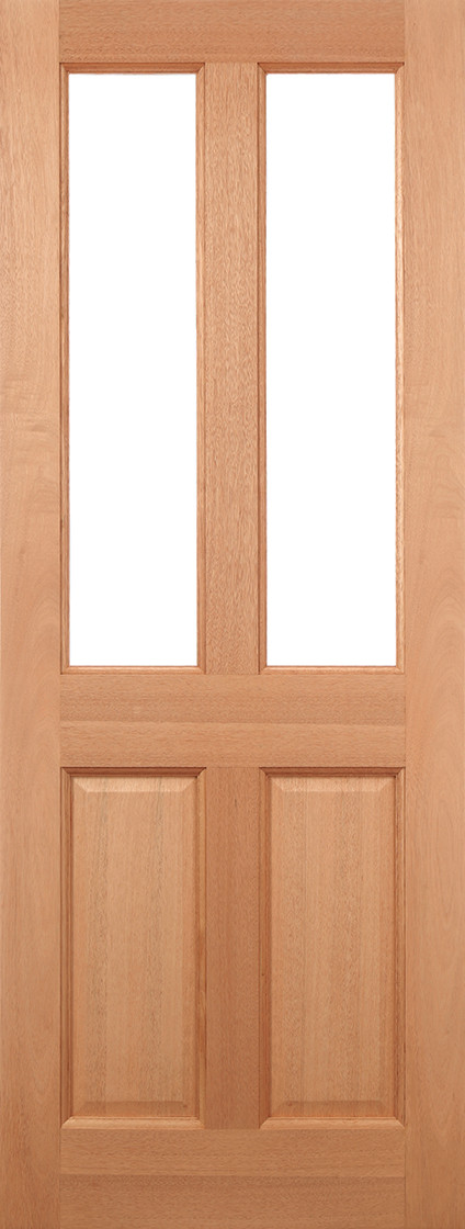 Hardwood Malton Glazed 2L Clear
