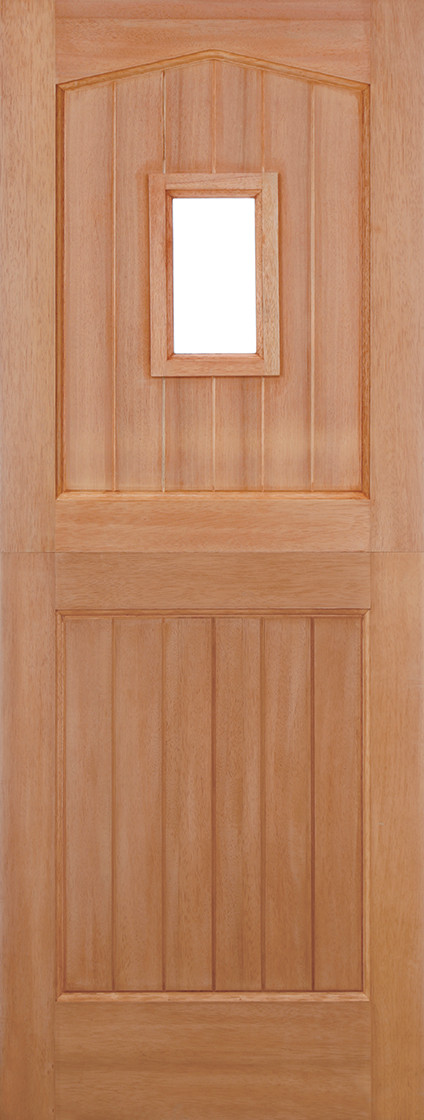 Hardwood Stable Unglazed 1L Dowelled