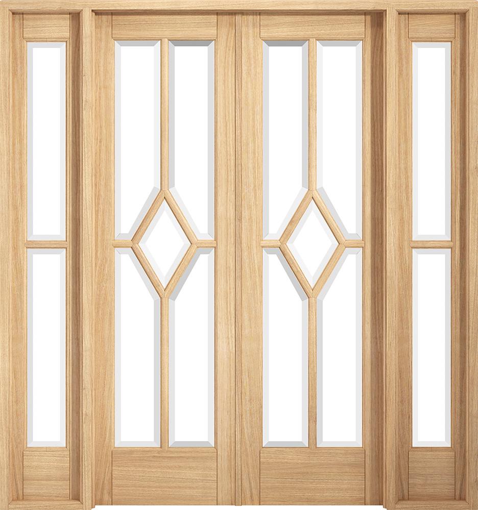 Room Divider Oak Reims W6