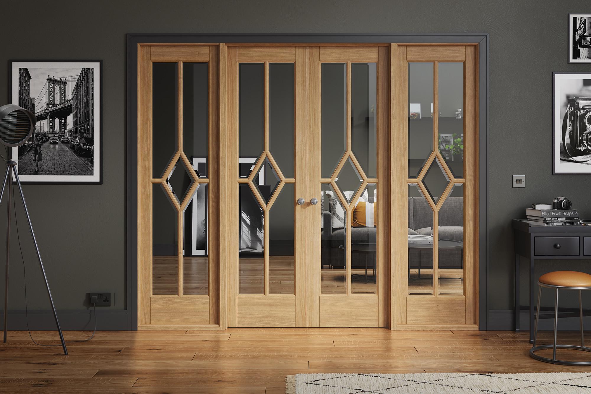 Room Divider Reims Oak W8