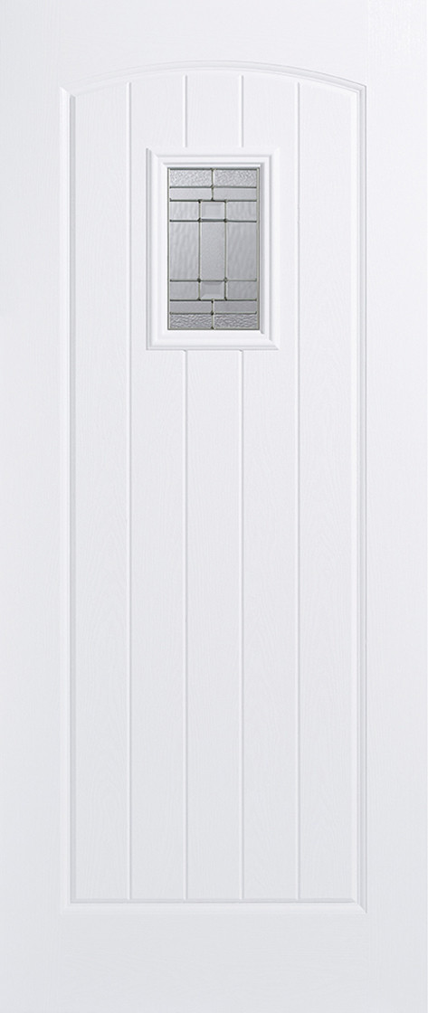 GRP Cottage White Glazed 1L