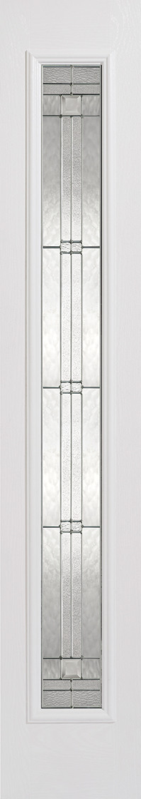 GRP Sidelight White Glazed 1L Elegant