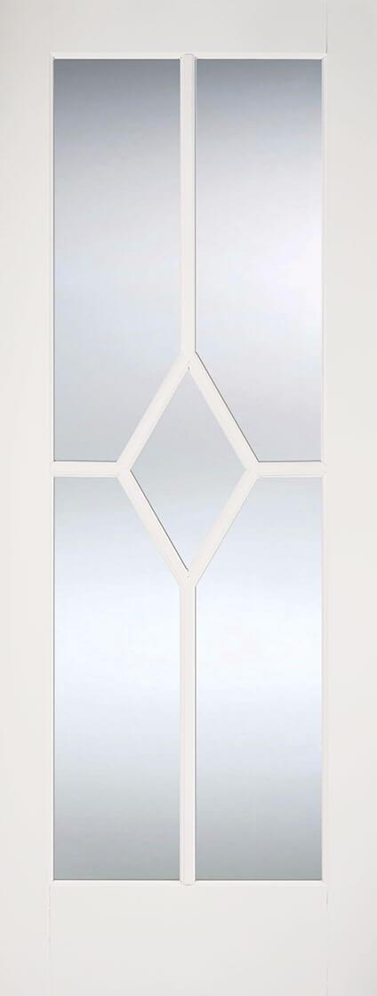White Reims Glazed