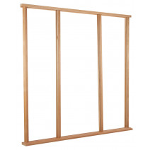 Door Frame Universal Hardwood External