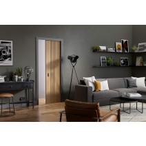 Flusso Pocket Door Set Single