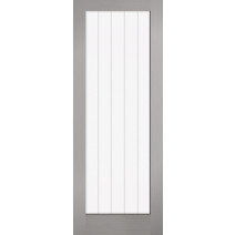 Grey Moulded Textured Vertical Glazed 1L