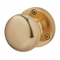 Ironmongery Charon Satin Brass Privacy Handle Hardware Pack