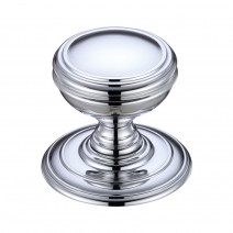 Ironmongery Crater Polished Chrome Privacy Handle Hardware Pack