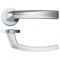 Ironmongery Hercules Satin Chrome Privacy Handle Hardware Pack