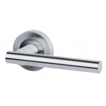 Ironmongery Hyperion Privacy Satin Chrome Handle Hardware Pack