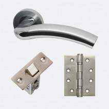 Ironmongery Jupiter Handle Hardware Pack