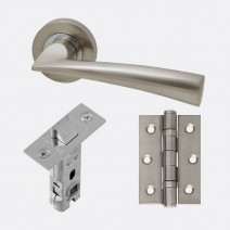 Ironmongery Mars Handle Hardware Pack