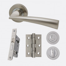 Ironmongery Mars Privacy Handle Hardware Pack