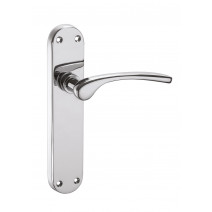 Ironmongery Musca Polished Chrome Privacy Handle Hardware Pack