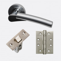 Ironmongery Neptune Handle Hardware Pack