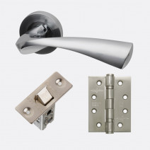 Ironmongery Pluto Handle Hardware Pack
