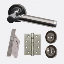 Ironmongery Polaris Privacy Handle Hardware Pack