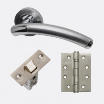 Ironmongery Saturn Handle Hardware Pack