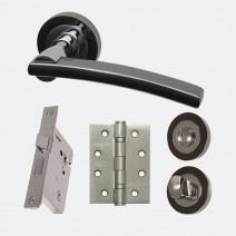 Ironmongery Sirus Privacy Handle Hardware Pack