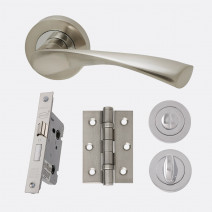 Ironmongery Solar Privacy Handle Hardware Pack