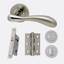 Ironmongery Venus Privacy Handle Hardware Pack