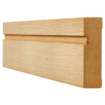 Oak Architrave Single Groove