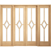 Room Divider Reims Oak W8