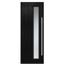 Shardlow Black Glazed Door Set
