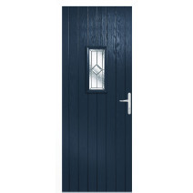 Speedwell Blue Glazed Door Set