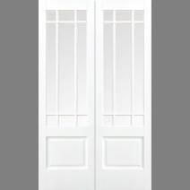White Downham Glazed 9L Pair