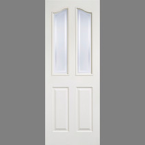 White Moulded Mayfair 2L Glazed
