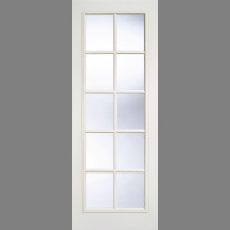 White Moulded SA 10L Glazed
