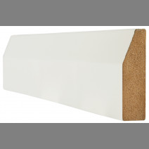 White Primed Architrave Chamfered