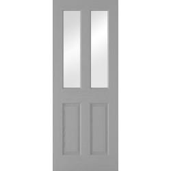 Grey Moulded Glazed 2P-2L