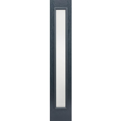 GRP Sidelight Grey Glazed 1L Frosted