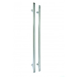 Ironmongery External Square Pull Handle Set