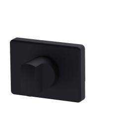 Ironmongery Nolita Thumbturn Matt Black Hardware Privacy Pack