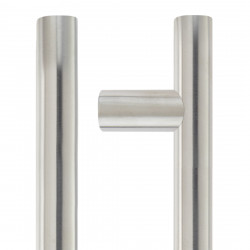Ironmongery Pictor Satin Chrome 300 Handle Hardware Pack