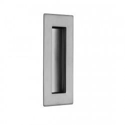 Ironmongery Scorpio Satin Chrome Pocket Door Handle