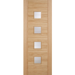 Oak Vancouver Glazed 4L Brilliant Cut Glass