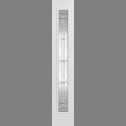 GRP Sidelight White Glazed 1L Elegant
