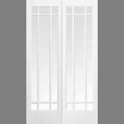 White Manhattan Glazed 9L Pair