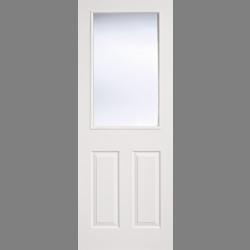White Moulded Glazed 2P-1L