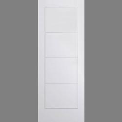 White Moulded Ladder